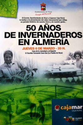 cartel 50 años de invernadero
