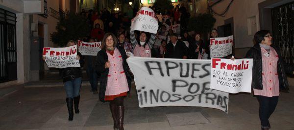 manifestación velez rubio frananlu