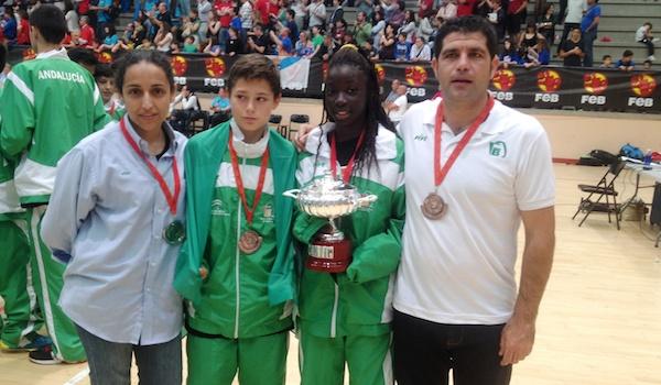 Baloncesto Cantera selección de Andalucía