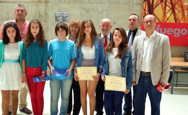 Ganadores olimpiadas matematicas Thales