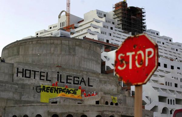 Greenpeace Algarrobico