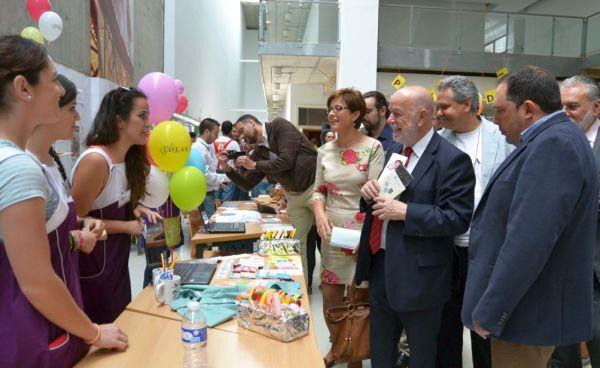 Inauguración de la VII Feria de las Ideas en la UAL
