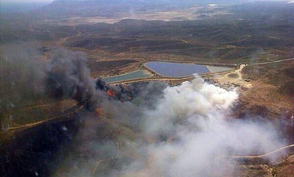 Incendio Carboneras