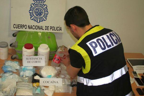 Laboratorio cocaína