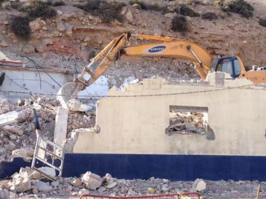 Las obras de demolición comenzaban el lunes