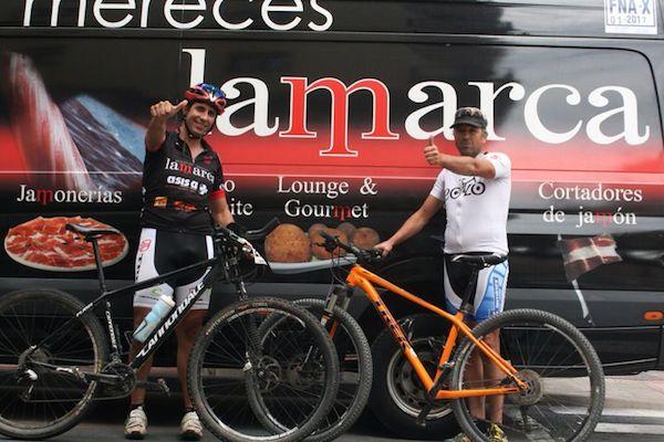 Almería en el Dakar de las bicicletas