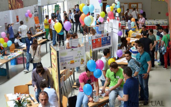Cientos de emprendedores se darán cita en la IX Feria de las Ideas de la UAL