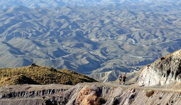 Running extremo en Almería