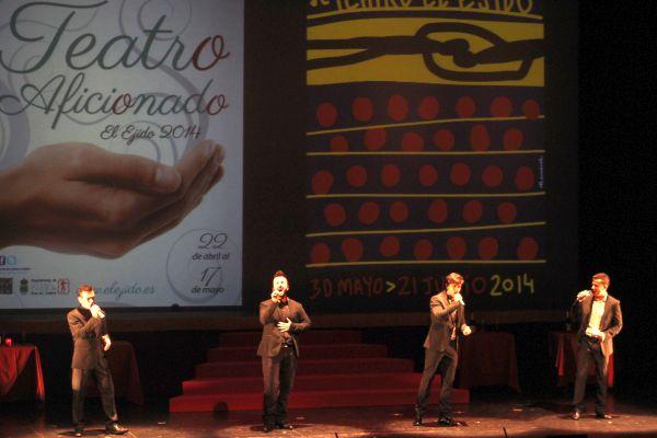 Gala dedicada al teatro aficionado y profesonal en El Ejido