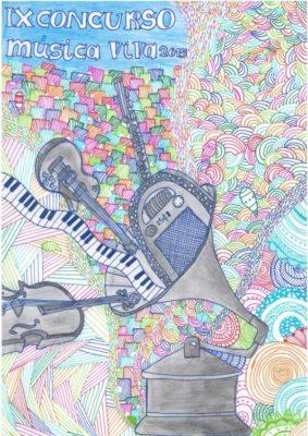 Cartel anunciador Música Viva