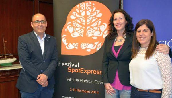 Presentación del I Festival Spot Express de Huércal Overa en Diputación