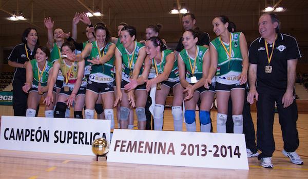 Voleibol Superliga Femenina Logroño y Almería