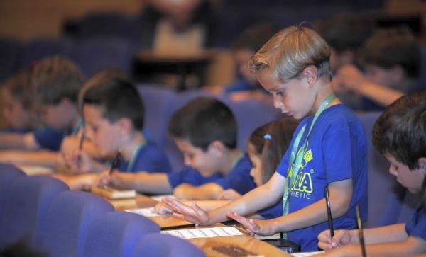 Niños matemáticas