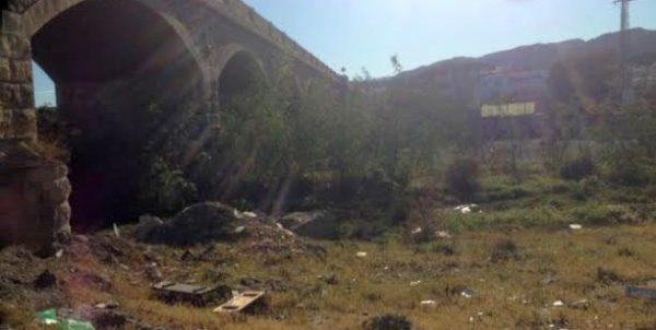 Estado del cauce del río Andarax a su paso por Viator