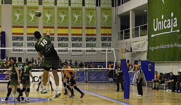 Unicaja ante Teruel Superliga de voleibol