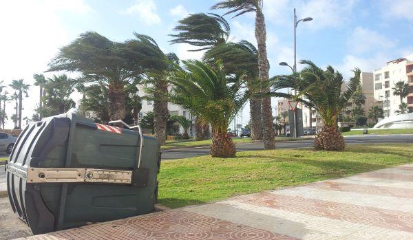 La borrasca 'Ana' visita este lunes Almería con alerta naranja por viento y fenómenos costeros