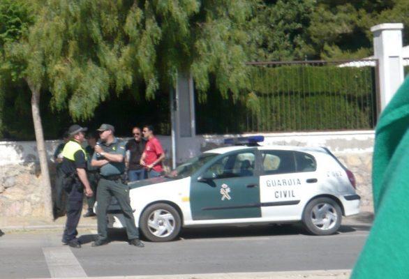 Detenido en Huércal-Overa por abusos sexuales a una menor, hija de su pareja