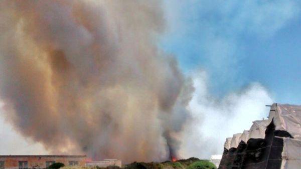 Incendio Punta Entinas