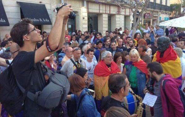 Almería, 2 de junio de 2014, tras la abdicación del Rey Juan Carlos I