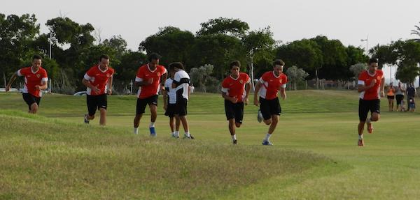 UD Almería Liga BBVA preparación física pretemporada