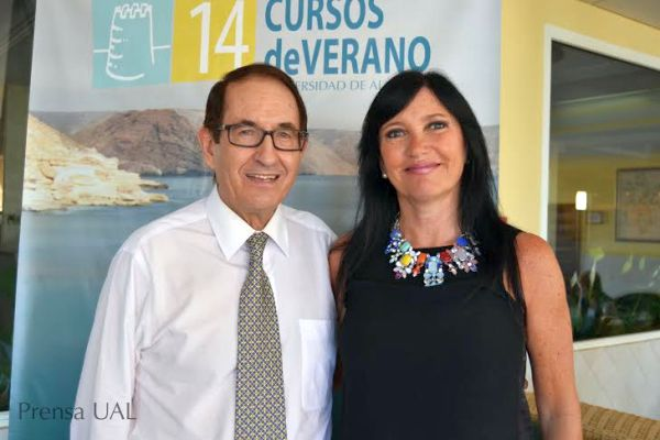 Bernabé Tierno e Isabel Mercader