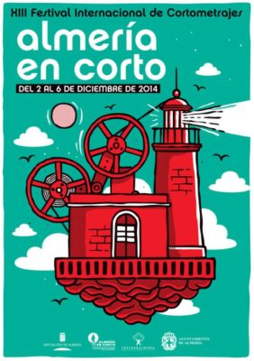 Cartel Almería en Corto XIII