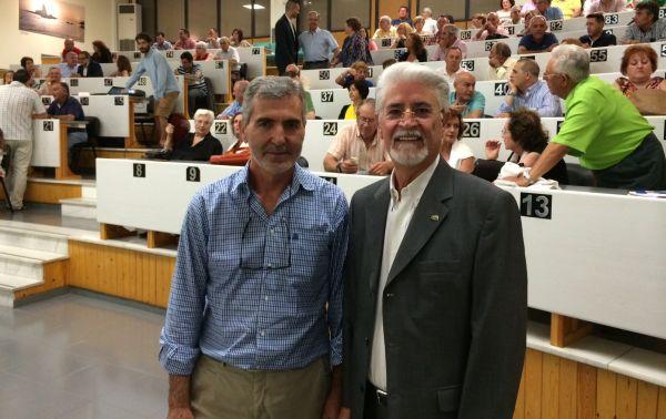 Fco Rodríguez y Miguel Vargas