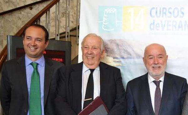 Manuel Olivencia Ramón Herrera y Pedro Molina