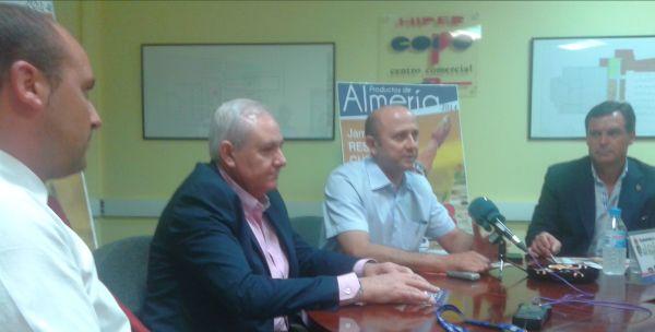De izquierda a derecha: Raúl Felies, Antonio Gallardo, Manuel Galera y Emilio Romero