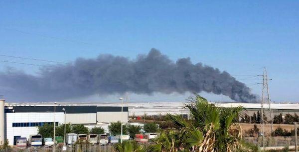Indignación en el campo por el nuevo incendio de Ejido Medio Ambiente