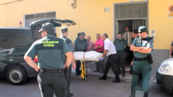 Mujer asesinada en Berja
