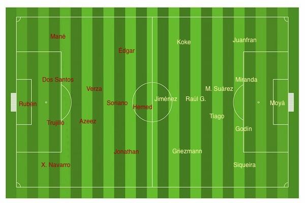 Almería - Atlético 14-15