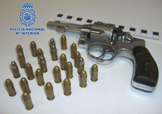 Arma Policía Nacional