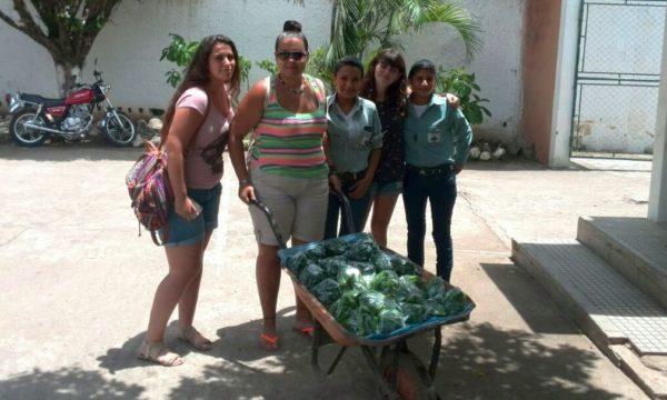Alumnas de Grado de Trabajo Social de la UAL en Guatemala