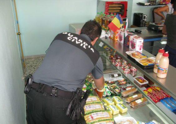 Inspección HO Guardia civil