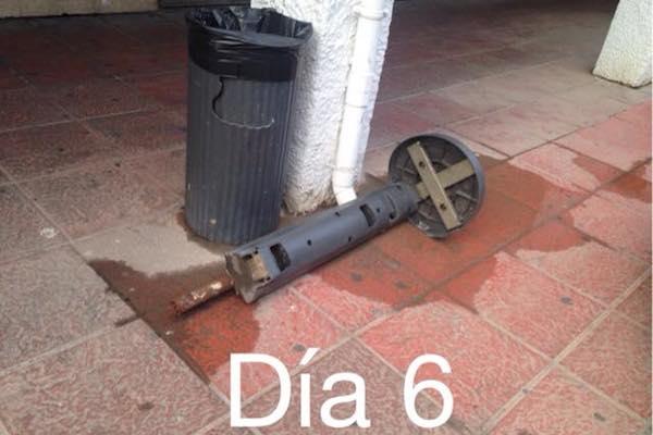 Abandono en la ciudad de Almería