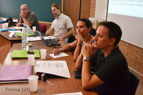 Reunión investigadores  UAL