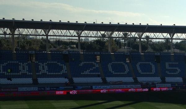 Grada del Estadio de los Juegos Mediterráneos y Ego