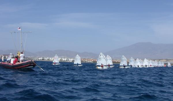 Vela Campeonato de Almería Optimist y Lasser 4.7