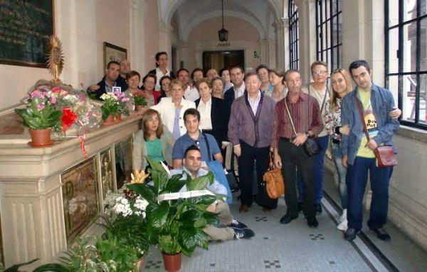 Homenaje al Padre Rubio en Dalías
