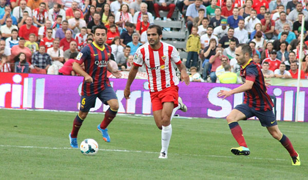 UD Almería liga BBVA FC Barcelona