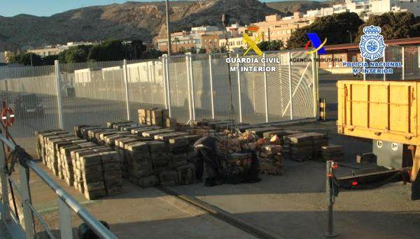 El 60% de las organizaciones criminales desarticuladas en Andalucía se dedica al tráfico de drogas