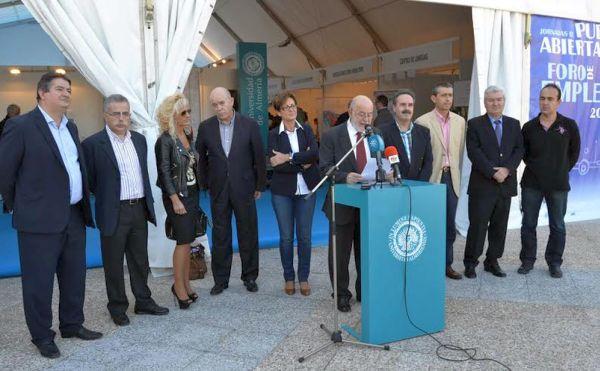 Inauguración Foro de Empleo UAL