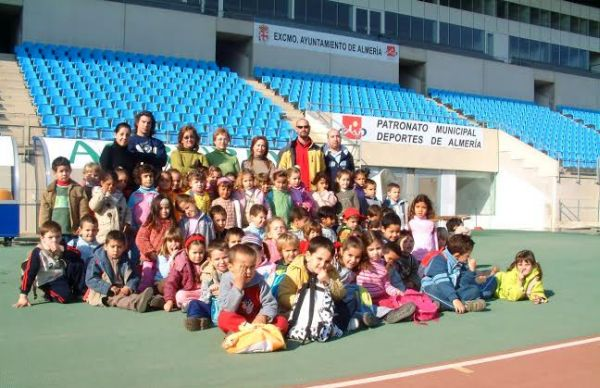 Visita al Estadio Mediterráneo
