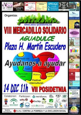 cartel mercadillo