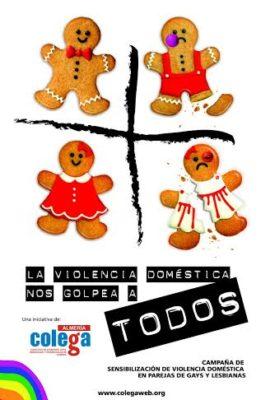 Cartel de la campaña de Colega Almería