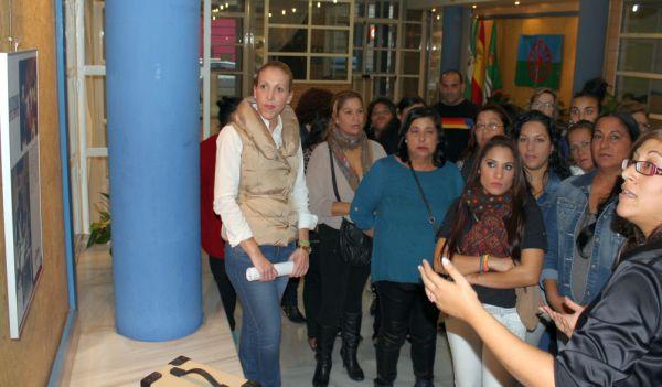 Exposición mujer gitana