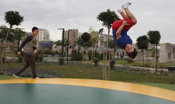 Los juegos para niños, principal reclamo de la promera fase del parque