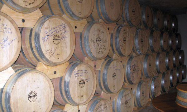 Cubas de vino barriles