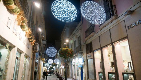 Iluminación navideña Almería 2014
